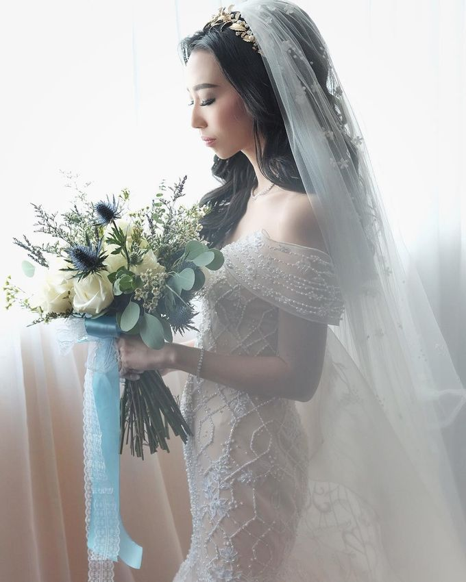 Robert and Michelle Wedding by Orchid Florist and Decoration - 008