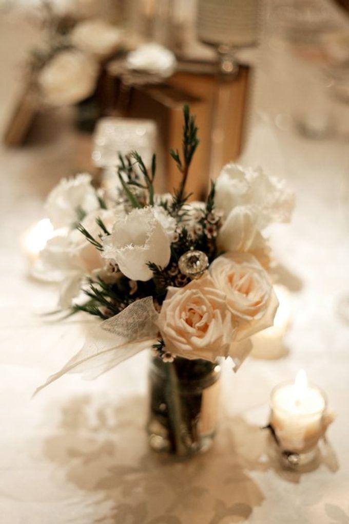 'Eloquence' by Tea Rose Wedding Designer - 018