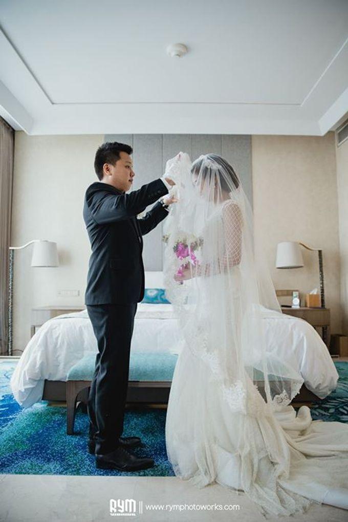 Cia & Cindy wedding day by The Wedding Atelier - 030