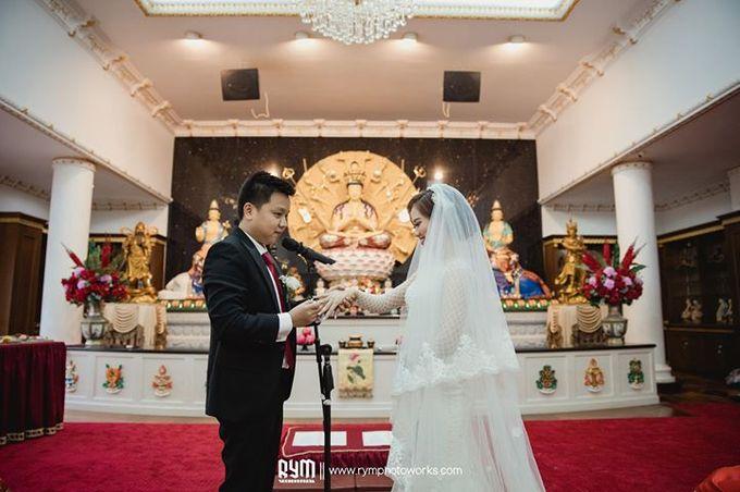 Cia & Cindy wedding day by The Wedding Atelier - 011