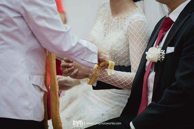 Cia & Cindy wedding day by The Wedding Atelier - 009