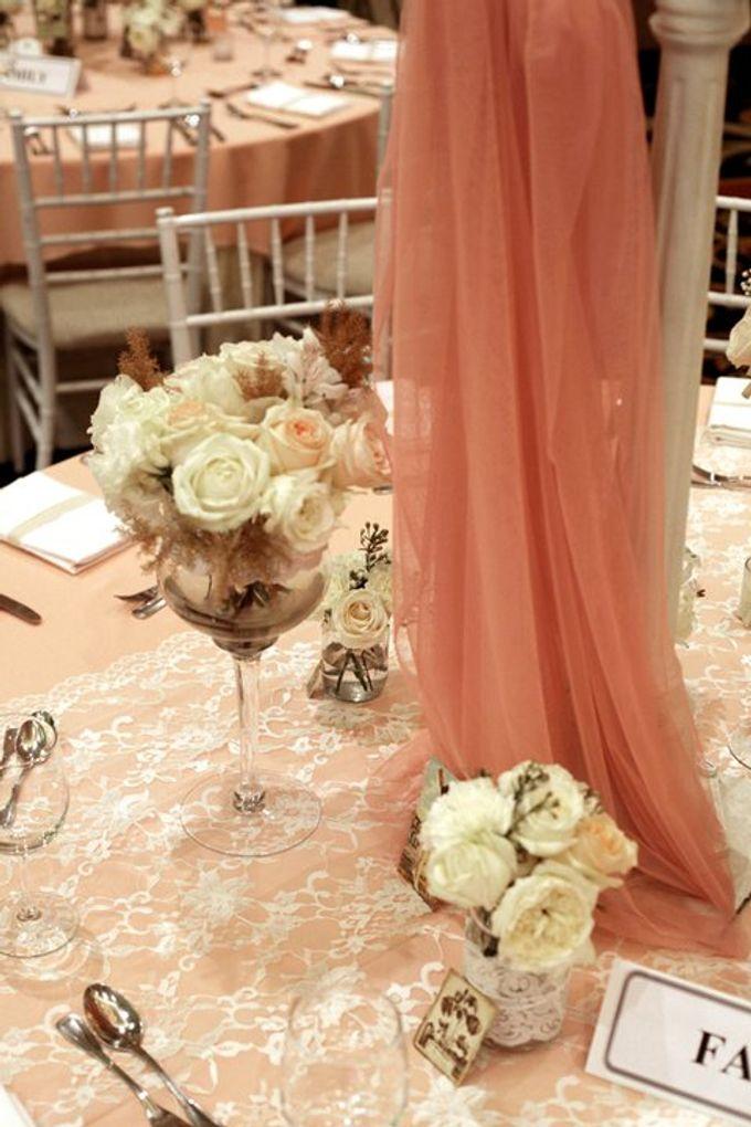 our kind of pink by Tea Rose Wedding Designer - 010