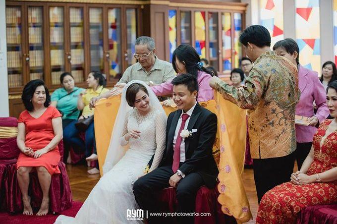 Cia & Cindy wedding day by The Wedding Atelier - 010