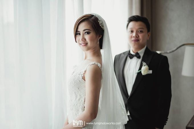 Cia & Cindy wedding day by The Wedding Atelier - 007
