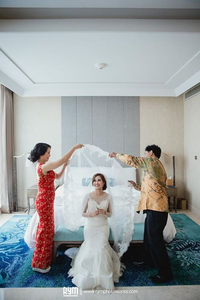 Cia & Cindy wedding day by The Wedding Atelier - 027