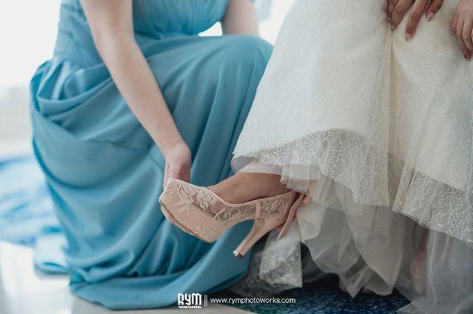 Cia & Cindy wedding day by The Wedding Atelier - 022