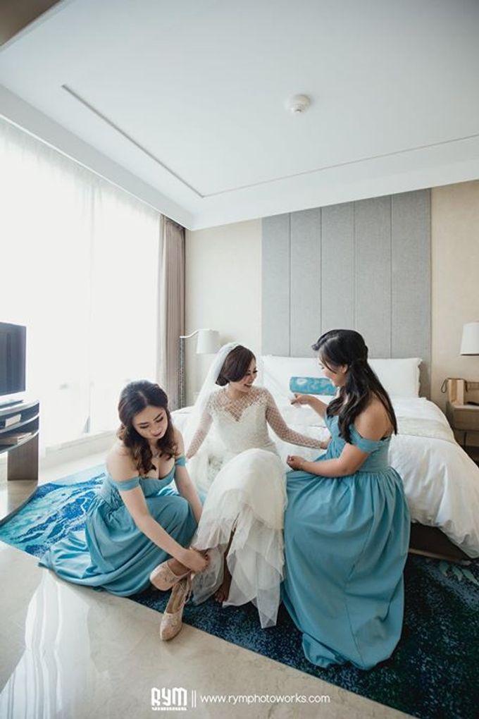 Cia & Cindy wedding day by The Wedding Atelier - 021