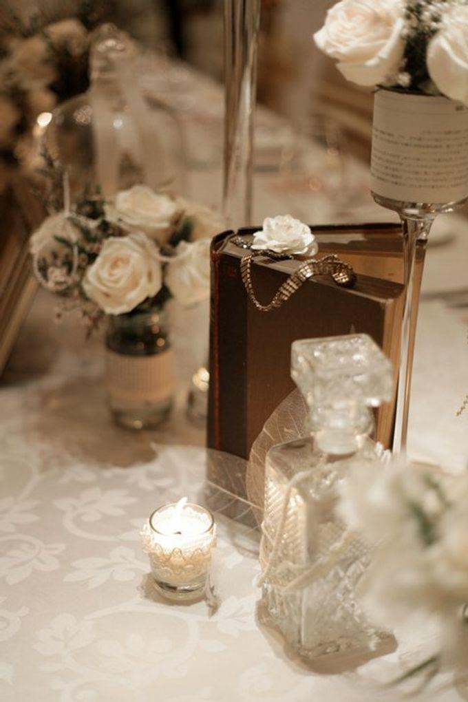 'Eloquence' by Tea Rose Wedding Designer - 014