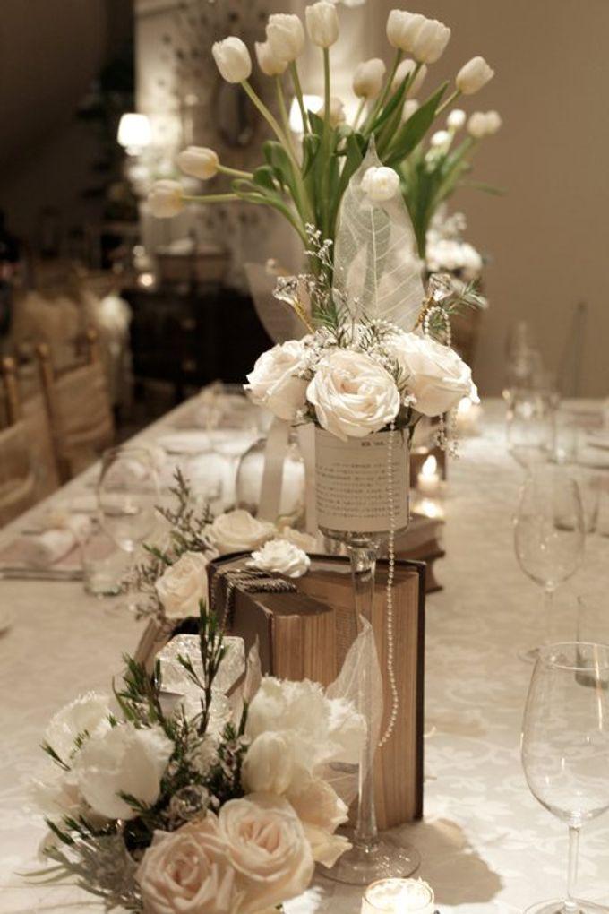 'Eloquence' by Tea Rose Wedding Designer - 020