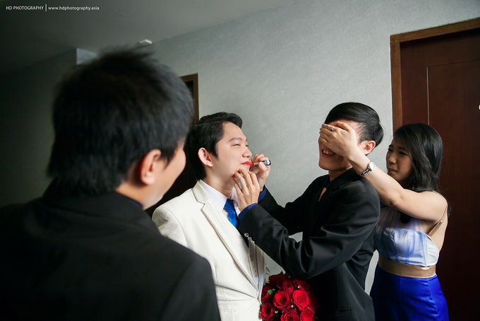 Elit Condro and Fransisca - wedding by HD Photography - 010