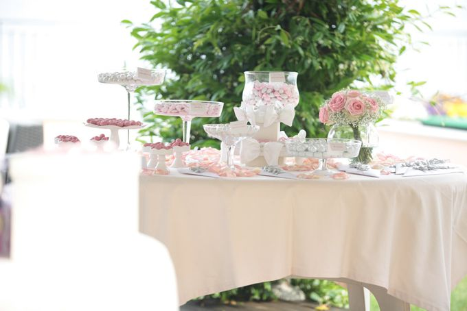Romantic light pink wedding by Sogni Confettati - 043
