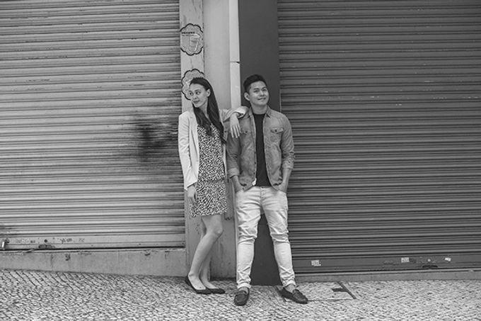 Silver and Jenn Macau Engagement Session by Leighton Andante - 026