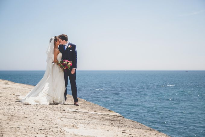 Clare and Ben's Marine Theatre wedding, Lyme Regis by Andrew George Photography - 022