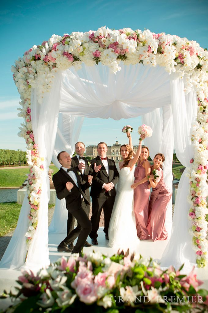 Wedding in the Konstantinovsky Palace by Grand Premier - 028
