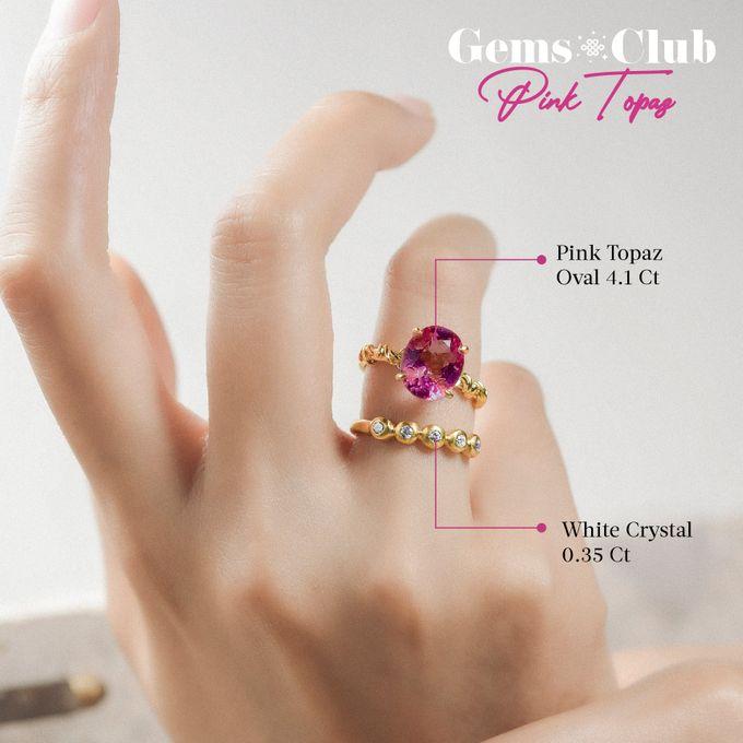 """Gemsclub """"Pink Topaz"""" by Tulola - 015"""