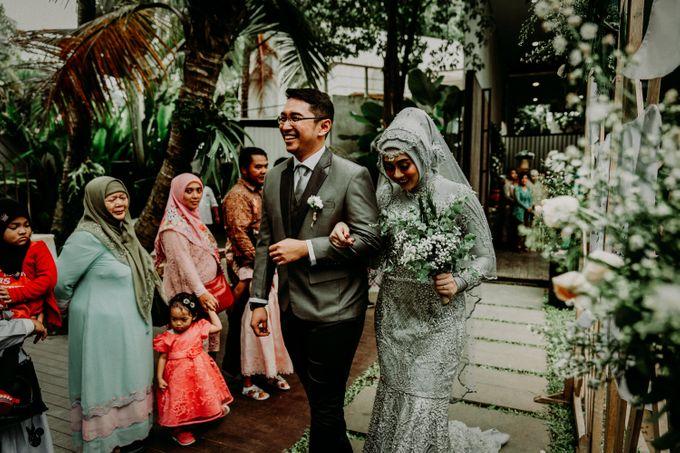 Dheafina & Nur Wedding at Azila Villa by AKSA Creative - 023