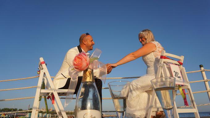 Wedding by the sea in Antalya -Lucy & Daniel- by Wedding City Antalya - 022