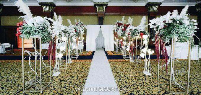 Glenn & Jesslyn Wedding Decoration by Valentine Wedding Decoration - 023