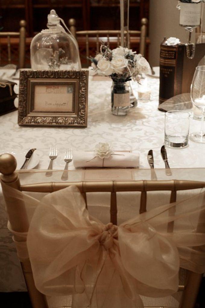 'Eloquence' by Tea Rose Wedding Designer - 021