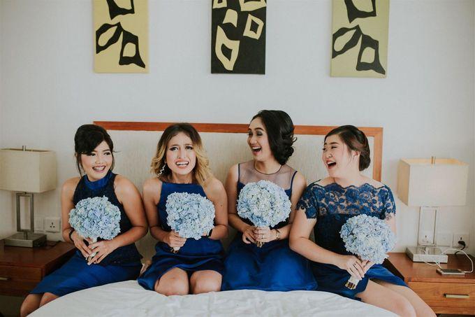 Nagisa Bali Wedding for Tiara & Adit by Nagisa Bali - 004