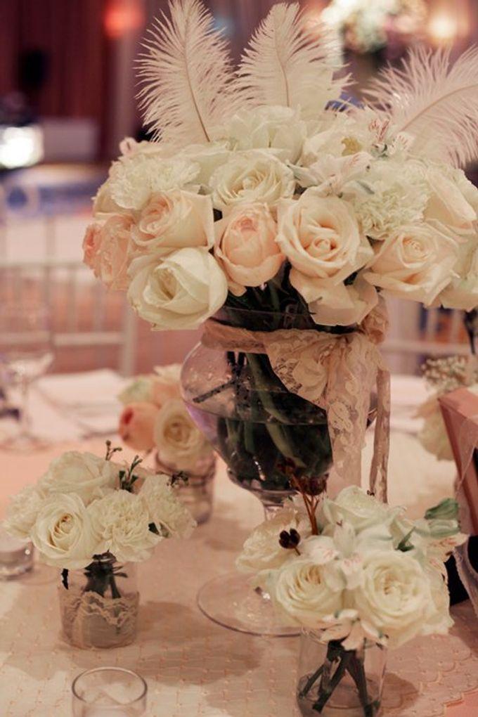 our kind of pink by Tea Rose Wedding Designer - 021