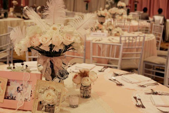 our kind of pink by Tea Rose Wedding Designer - 009