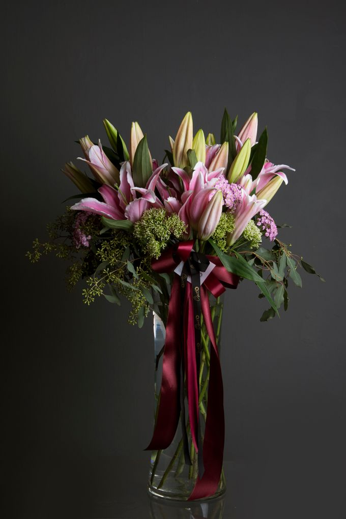 Flora Styling in vase by Beato - 028