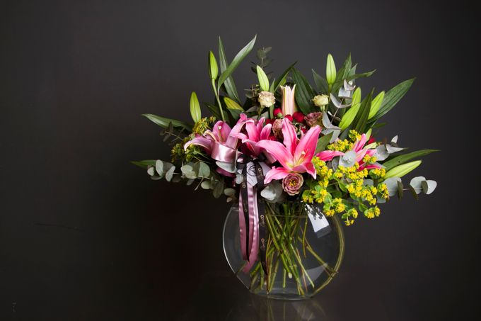 Flora Styling in vase by Beato - 031