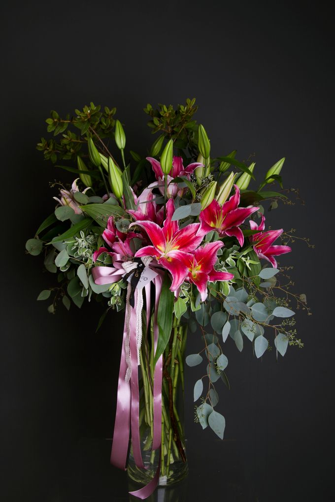 Flora Styling in vase by Beato - 032
