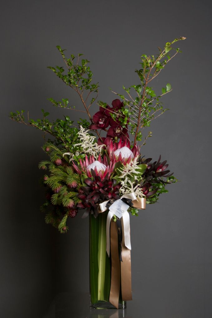 Flora Styling in vase by Beato - 033