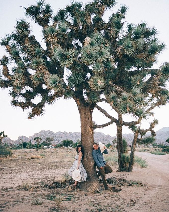 Pioneertown Engagement The Desert is Full of Wildflowers and Lovebirds by Pretty Branch Wedding Photo & Video - 004