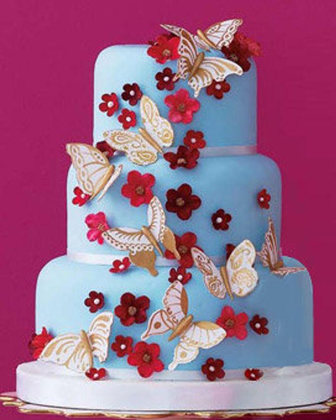 3 layers wedding cakes by LeNovelle Cake - 003