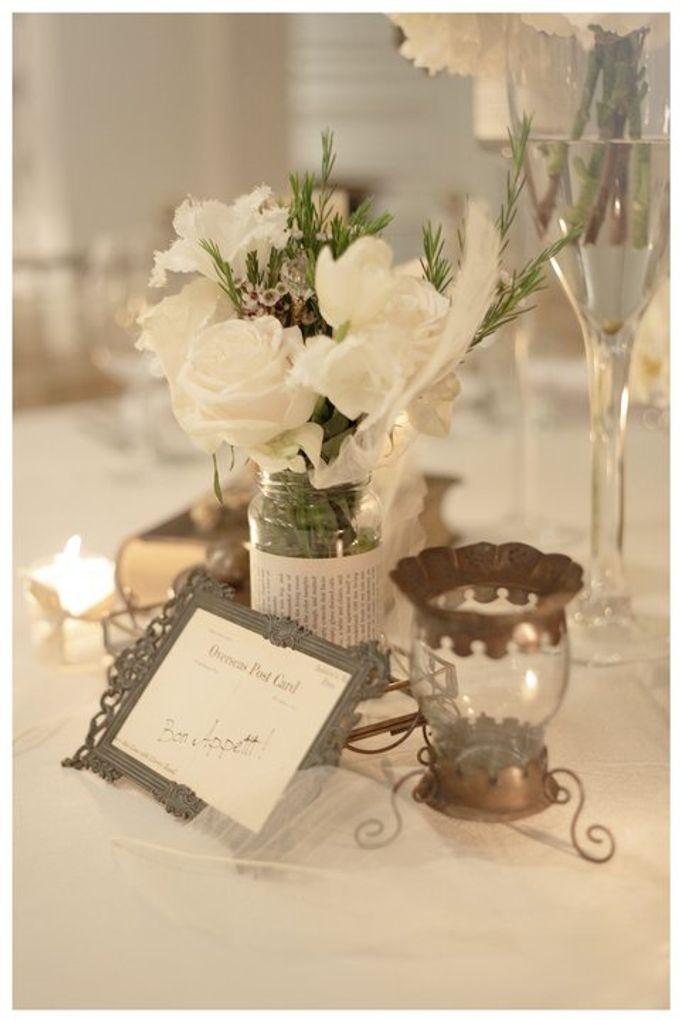 'Eloquence' by Tea Rose Wedding Designer - 003