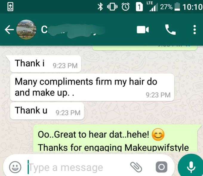 Happy Clients Compliments and Feedbacks by Makeupwifstyle - 002