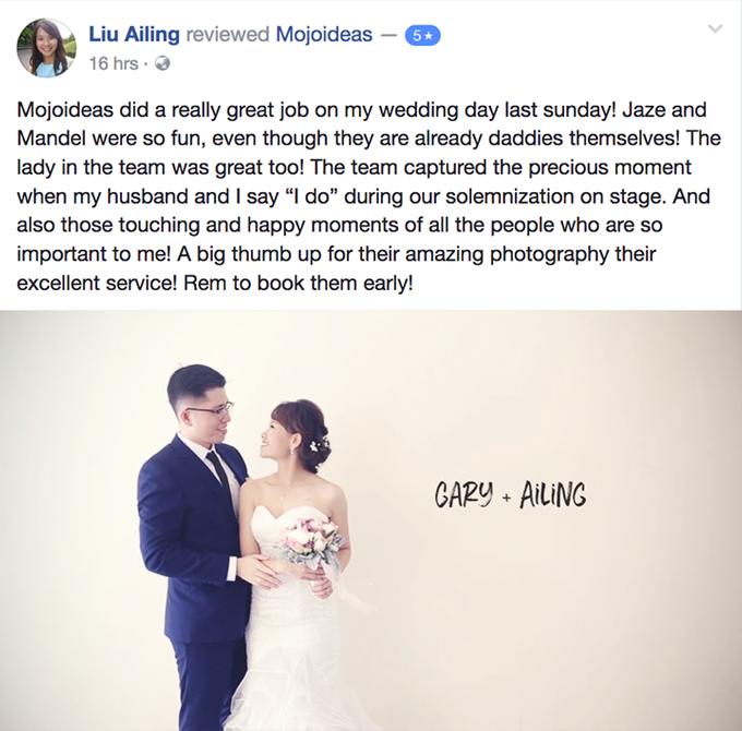 Real Wedding Testimonials by Mojoideas - 038