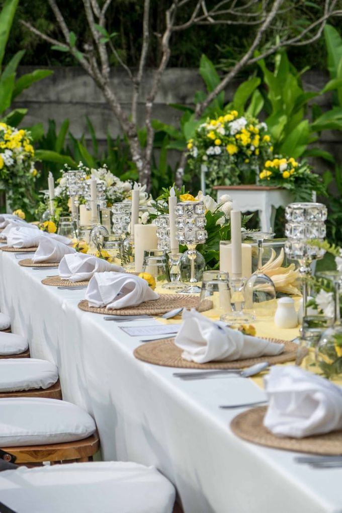 Yellow White and Green by CITTA Wedding - 008