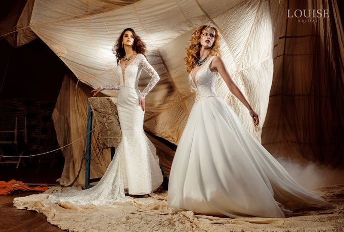 "Louise Bridal 2016 ""Magic sails"" by Louise Bridal - 028"