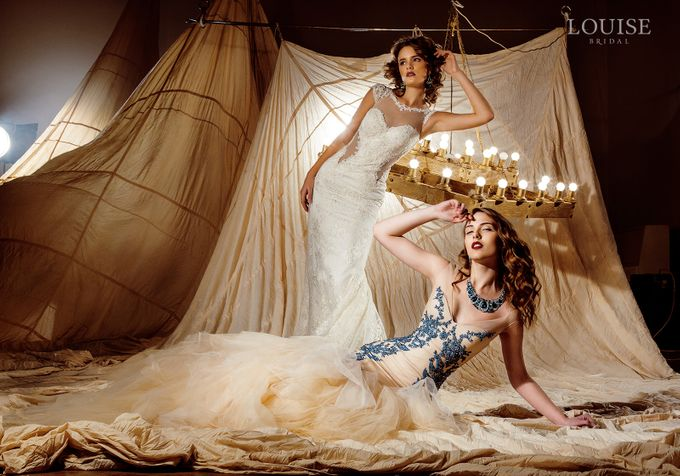 "Louise Bridal 2016 ""Magic sails"" by Louise Bridal - 034"