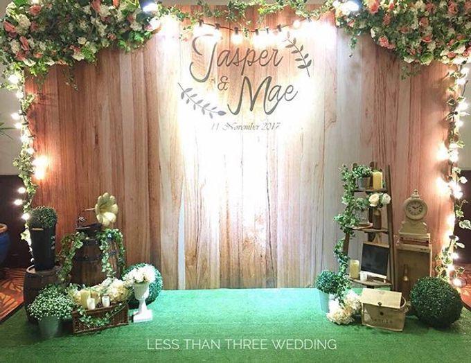 Wedding decoration by Less Than Three Wedding - 010