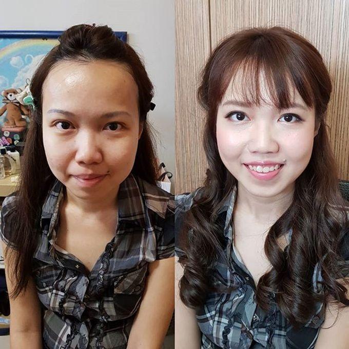 Bridal makeup by Jinnie Lee Korean Makeup & Hair - 004