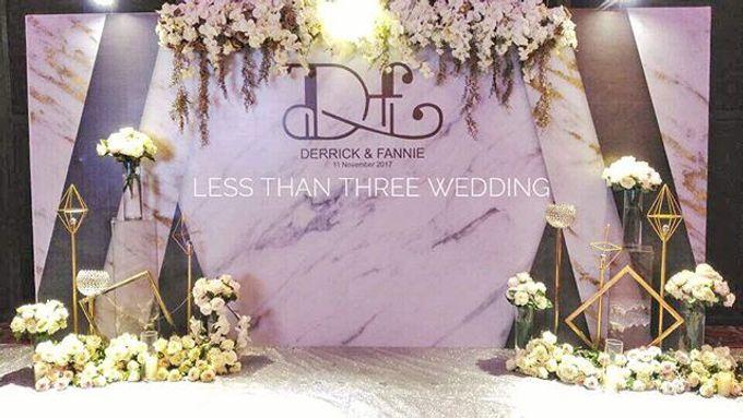 Wedding decoration by Less Than Three Wedding - 012
