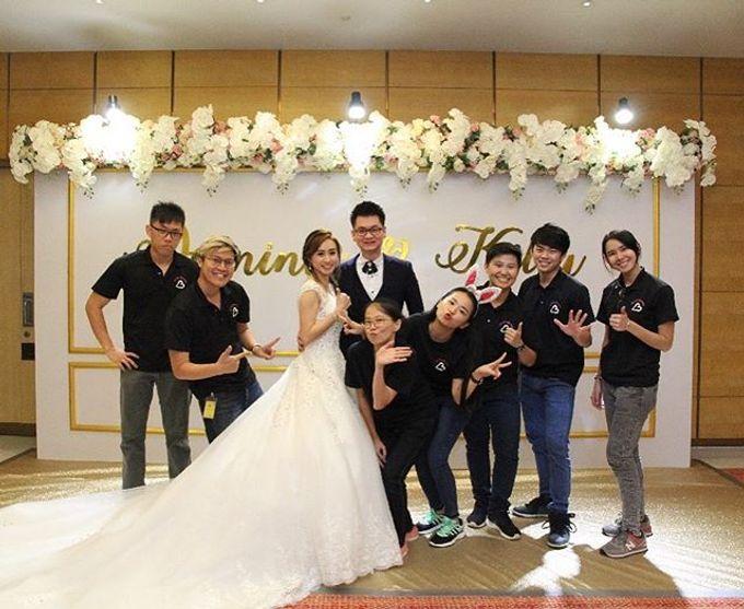 Wedding decoration by Less Than Three Wedding - 013