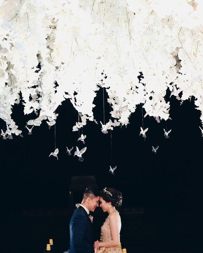 Michael Alinskie and Sherly Fausta Wedding by Rumah Luwih Beach Resort - 004