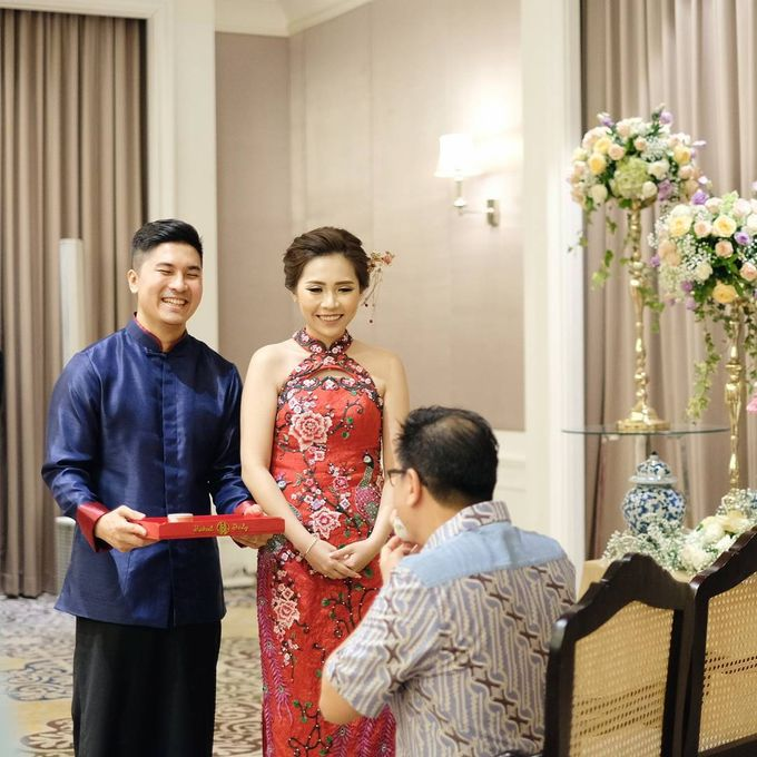 Michael Alinskie and Sherly Fausta Wedding by Rumah Luwih Beach Resort - 006