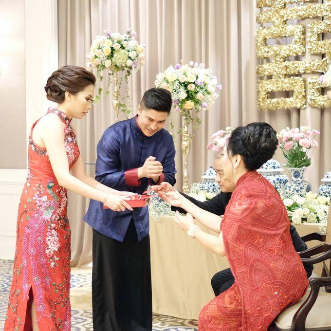 Michael Alinskie and Sherly Fausta Wedding by Rumah Luwih Beach Resort - 012