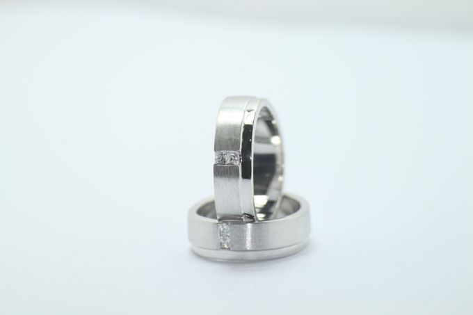 wedding ring simple Design by V&Co Jewellery - 009