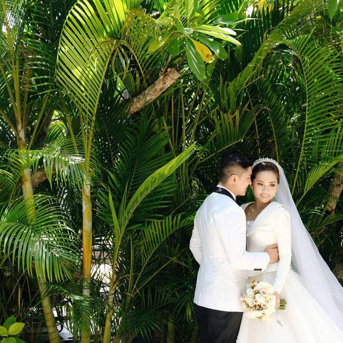 Michael Alinskie and Sherly Fausta Wedding by Rumah Luwih Beach Resort - 014