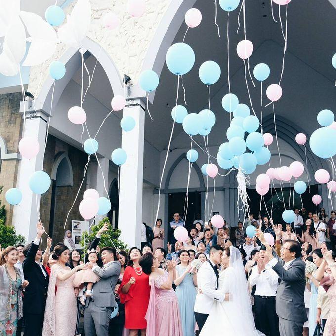 Michael Alinskie and Sherly Fausta Wedding by Rumah Luwih Beach Resort - 017