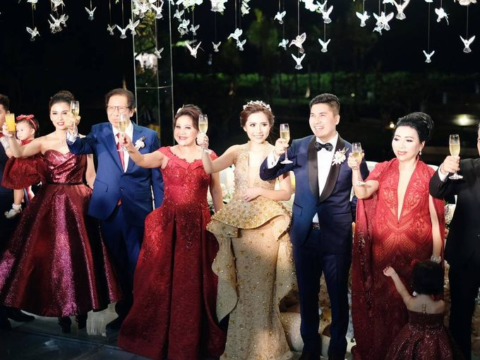 Michael Alinskie and Sherly Fausta Wedding by Rumah Luwih Beach Resort - 020