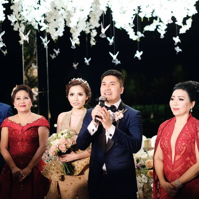Michael Alinskie and Sherly Fausta Wedding by Rumah Luwih Beach Resort - 024